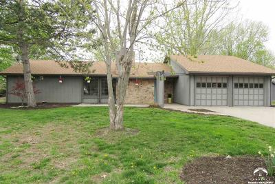 Lawrence Single Family Home Under Contract: 2417 Brookside Ct