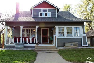 Baldwin City Single Family Home Under Contract/Taking Bu: 819 8th Street