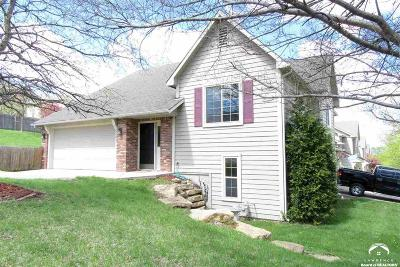 Lawrence Single Family Home Under Contract: 3704 Gunnison Dr