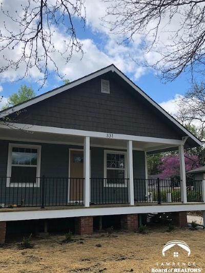 Lawrence Single Family Home Under Contract/Taking Bu: 331 Johnson Ave