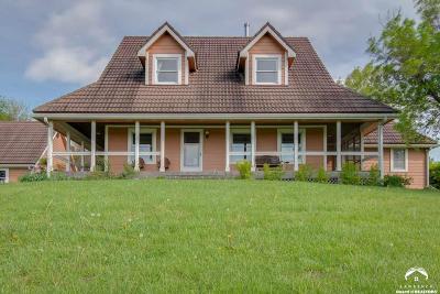 Eudora Single Family Home For Sale: 1066 E 2000 Road