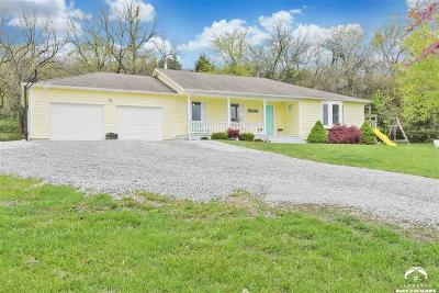 Tonganoxie Single Family Home Under Contract/Taking Bu: 20203 207 Street