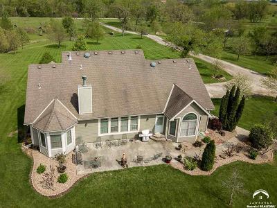 Baldwin City Single Family Home For Sale: 1197 N 400 Rd