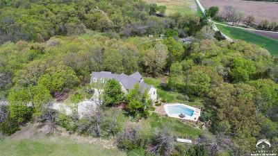 Lawrence Single Family Home Under Contract: 841 N 875 Road