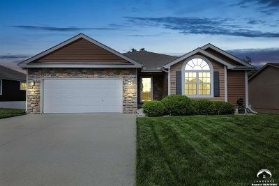 Eudora Single Family Home Under Contract/Taking Bu: 1425 Arrowwood Drive