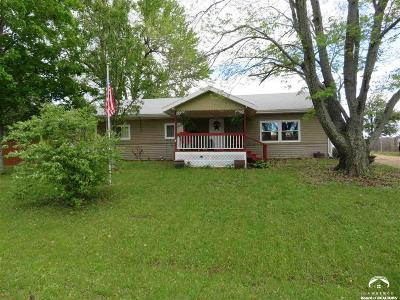 Ozawkie Single Family Home Under Contract: 9033 Lake Hills Rd
