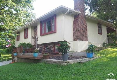 Ozawkie Single Family Home For Sale: 317 Delaware Dr