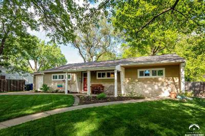 Lawrence Single Family Home Under Contract/Taking Bu: 918 Schwarz Road