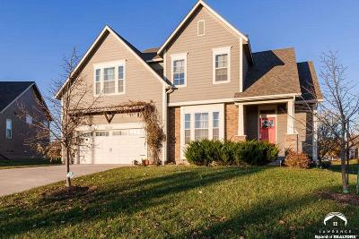 Lawrence Single Family Home For Sale: 5932 Simple Ln