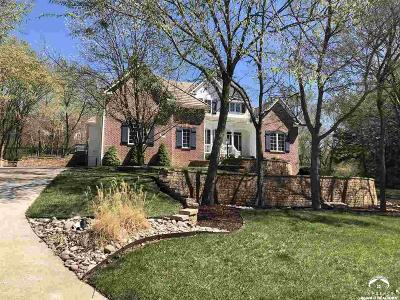 Lawrence Single Family Home For Sale: 1508 Burning Tree Ct