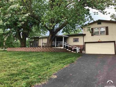 Lawrence Single Family Home Under Contract/Taking Bu: 1089 E 1326 Rd