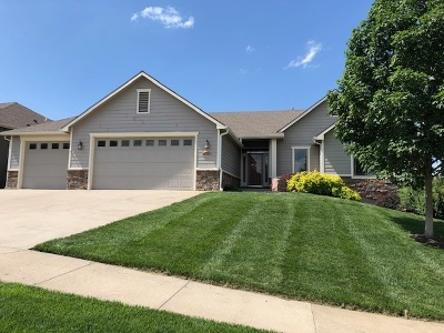 Lawrence Single Family Home For Sale: 6204 Crystal Lane