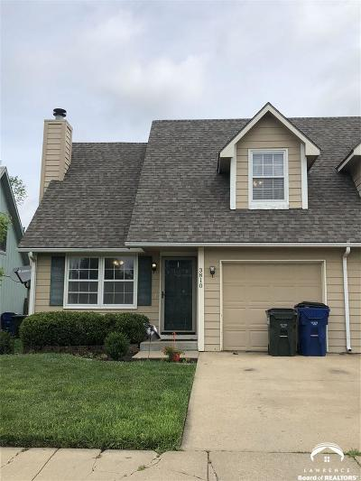 Lawrence Single Family Home Under Contract: 3810 Westland Place