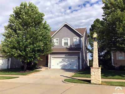 Lawrence Single Family Home For Sale: 3707 Tucker Trail