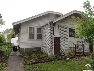 Topeka Single Family Home For Sale: 1287 SW Washburn Ave