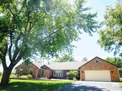 Shawnee County Single Family Home Under Contract: 3701 SE Shawnee Heights Rd