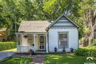 Lawrence Single Family Home For Sale: 917 E 13th St.