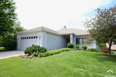 Lawrence Single Family Home For Sale: 5715 Villa Drive