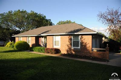 Lawrence Single Family Home Under Contract/Taking Bu: 4324 Wimbledon Drive