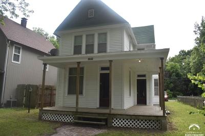 Topeka Single Family Home Under Contract: 1269 SW Lane St