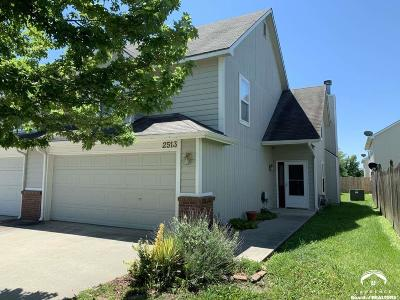 Lawrence Single Family Home For Sale: 2513 Crestline Circle