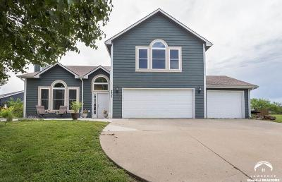 Baldwin City Single Family Home Under Contract: 221 Santa Fe Drive