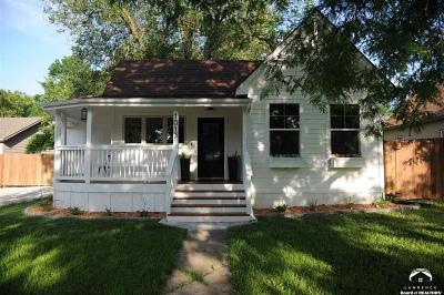 Baldwin City Single Family Home Under Contract/Taking Bu: 1013 7th Street