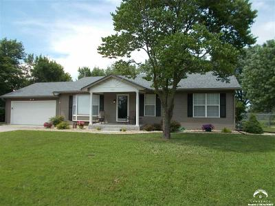 Topeka Single Family Home Under Contract: 4412 NW 52nd Terr