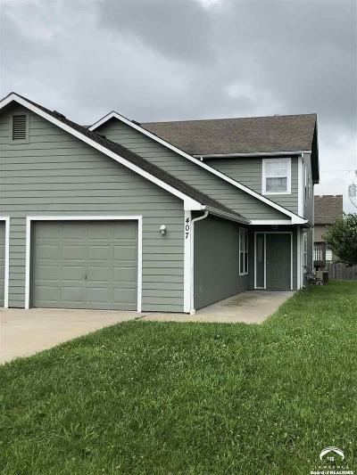 Baldwin City Single Family Home Under Contract: 407 Washington Street