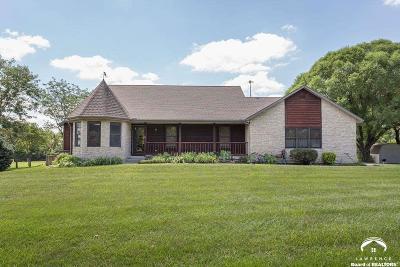Baldwin City Single Family Home For Sale: 1743 N 600 Rd