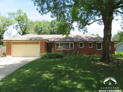 Lawrence Single Family Home For Sale: 1628 W 21st Terr.