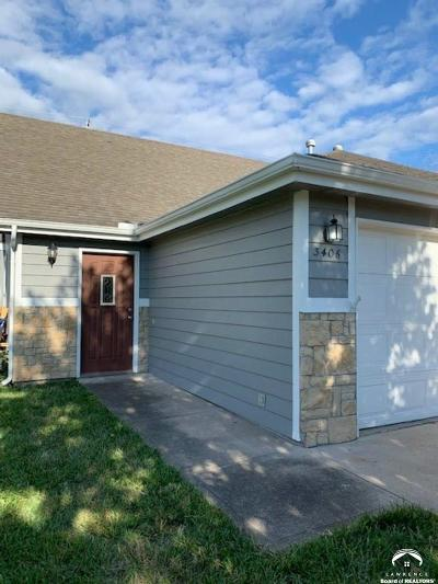 Lawrence Single Family Home Under Contract/Taking Bu: 3406 Morning Dove Circle