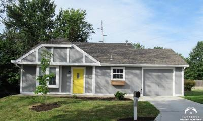Lawrence Single Family Home For Sale: 3309 W 24th Terrace