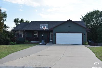 Topeka Single Family Home Under Contract: 3907 NW Krysten St