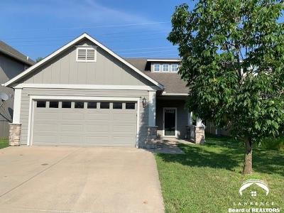 Lawrence Single Family Home Under Contract/Taking Bu: 1836 Villo Woods Court