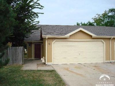 Lawrence KS Single Family Home For Sale: $137,900