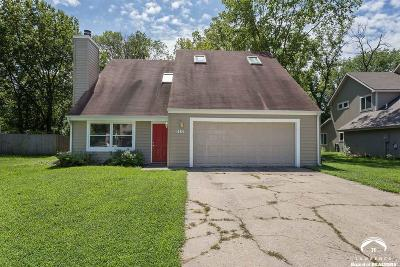 Lawrence KS Single Family Home For Sale: $187,500