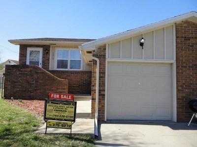 Single Family Home For Sale: 1210 Bluestem Drive