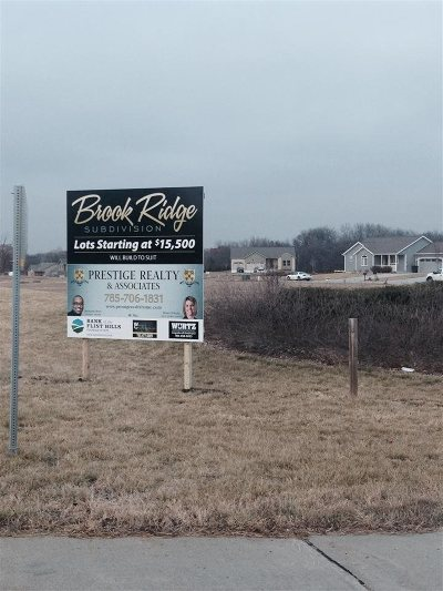 Wamego Residential Lots & Land For Sale: Driftwood Bend