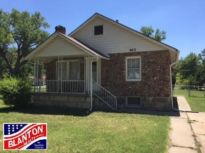 Junction City Single Family Home For Sale: 413 W Roosevelt