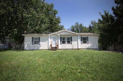 Junction City KS Single Family Home For Sale: $84,900