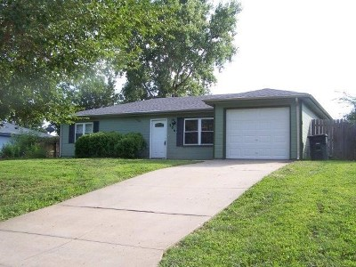 Ogden KS Single Family Home For Sale: $132,900