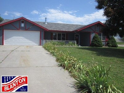 Wakefield KS Single Family Home For Sale: $58,500