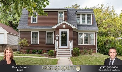 Manhattan Single Family Home For Sale: 1640 Fairview