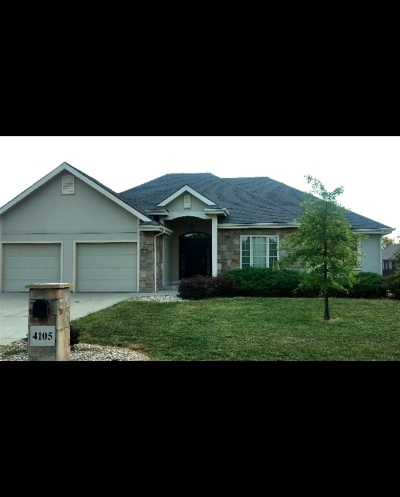 Manhattan Single Family Home For Sale: 4105 Eagle Valley Dr