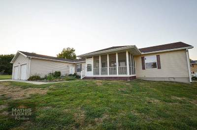 Single Family Home For Sale: 1018 Bayview Circle