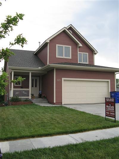 Junction City KS Single Family Home For Sale: $187,500