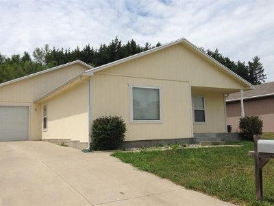 Junction City KS Single Family Home For Sale: $118,500