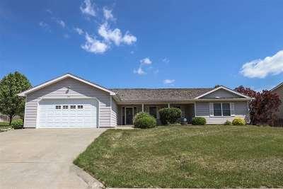 Single Family Home For Sale: 1516 Mistletoe Circle