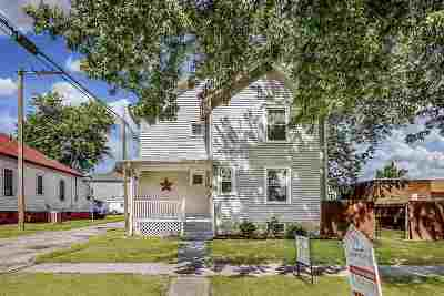 Single Family Home For Sale: 518 N Madison Street